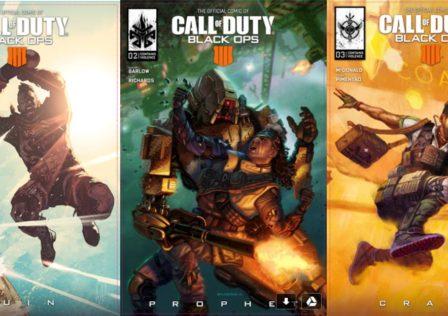 Call of Duty: Black Ops 4 Comics