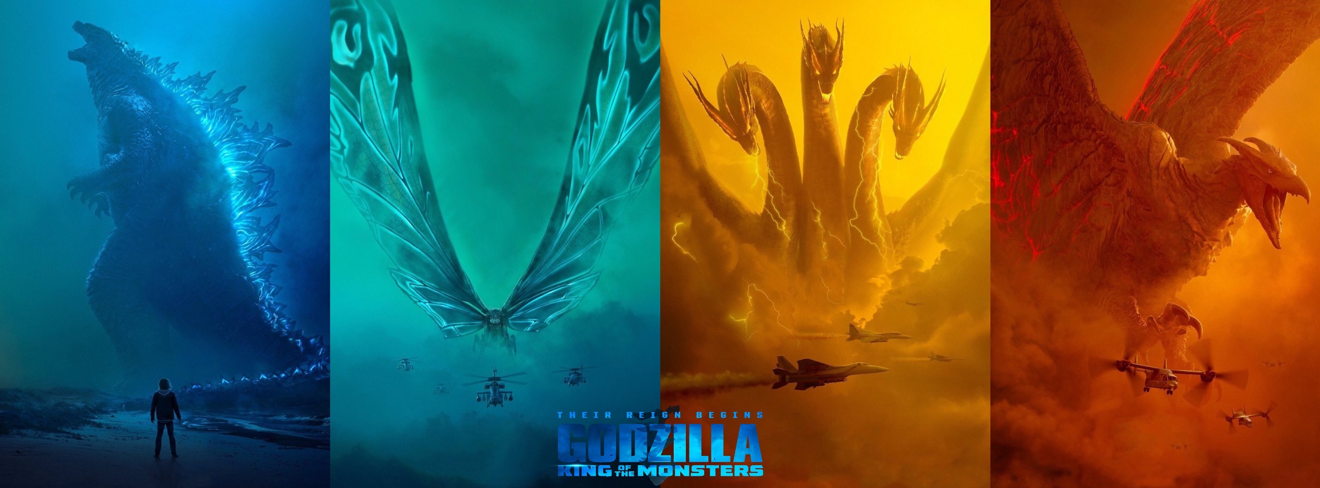 Godzilla: King of the Monsters.