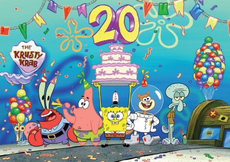 Spongebob 20 Years